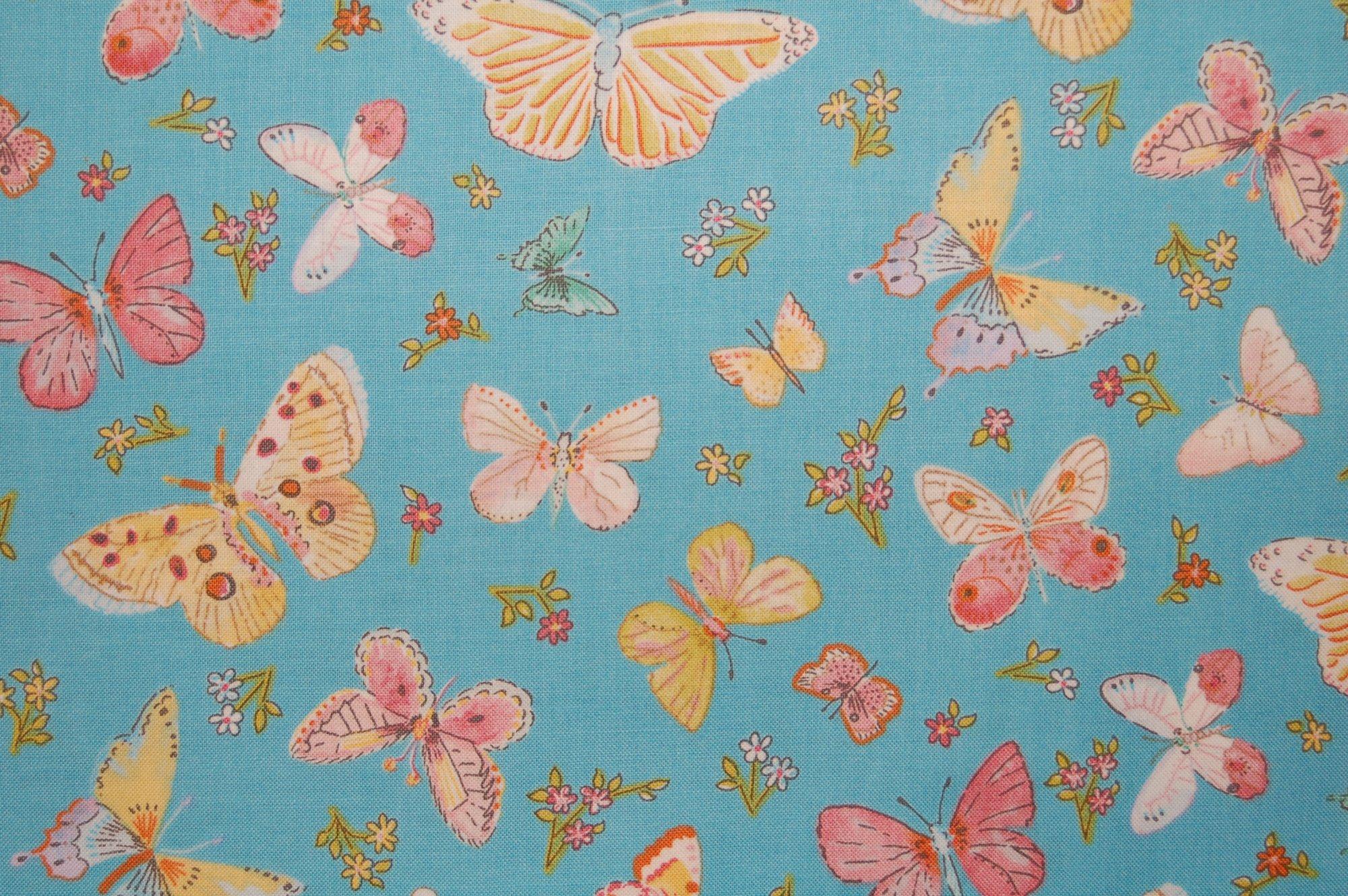 Butterfly Garden - Butterfly Toss from Dena Designs for Free Spirit