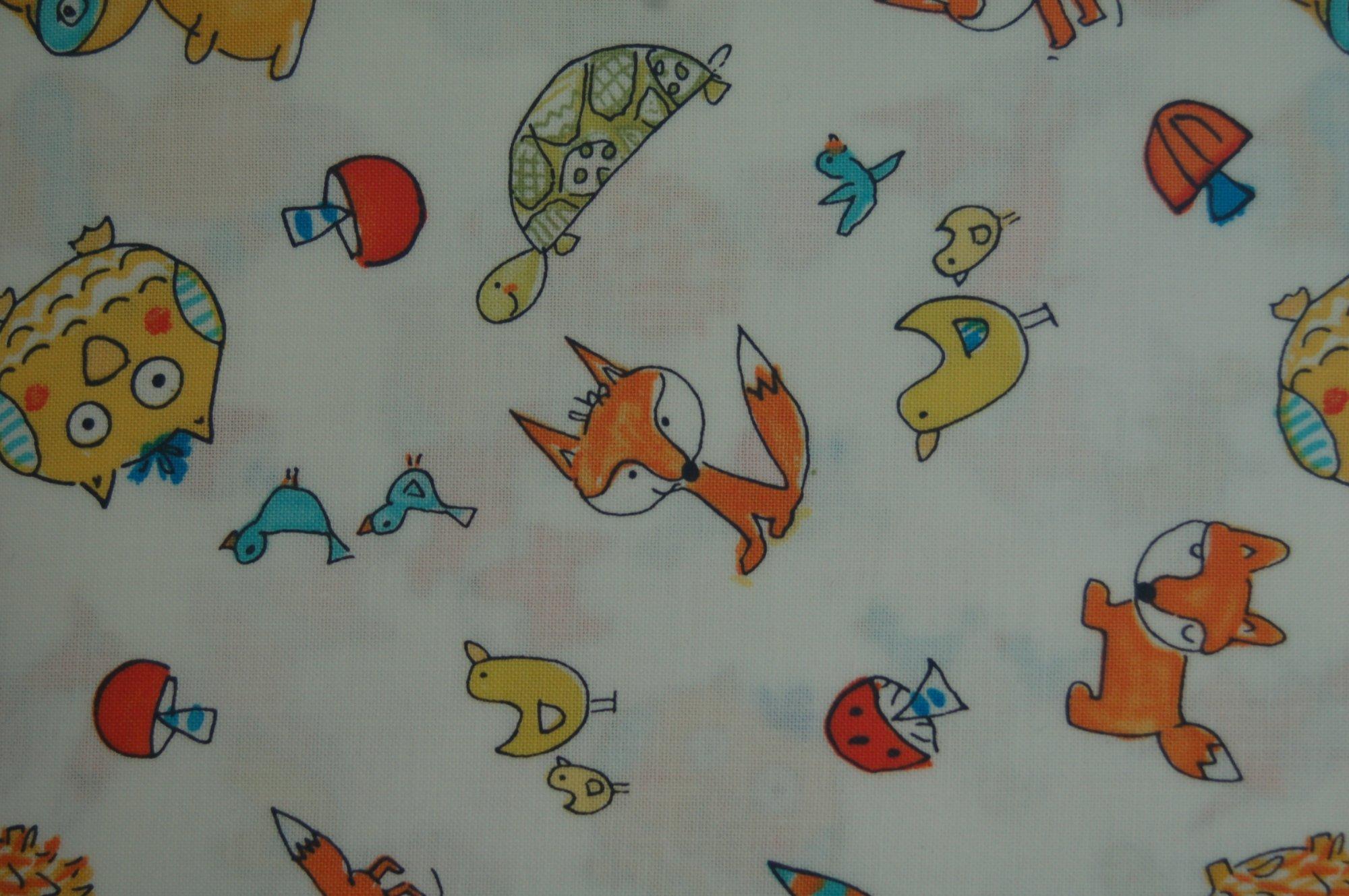 Fox Playground - Animal Toss by Dena Designs for Free Spirit