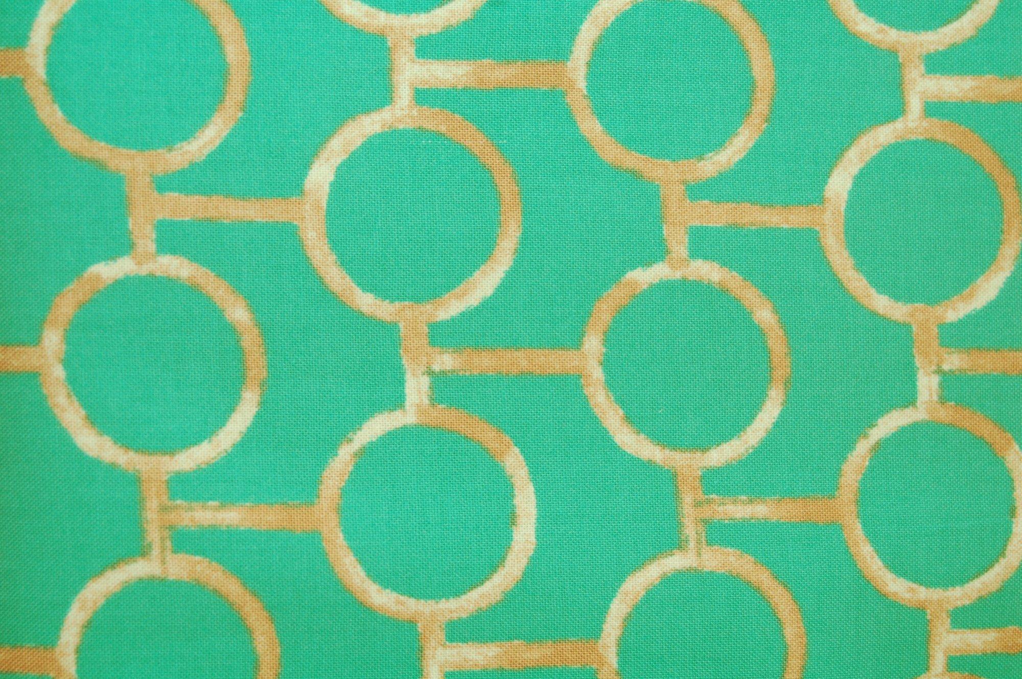 Godwin Orb (Pool) by Victoria & Albert for Rowan Fabrics