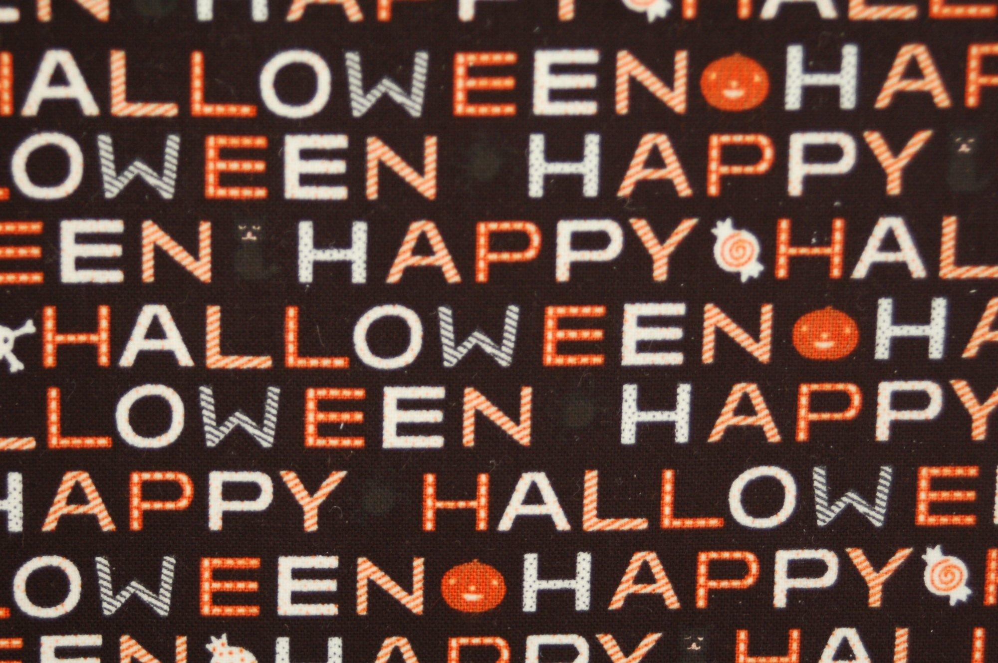 Cats, Bats and Jacks Happy Halloween by Riley Blake