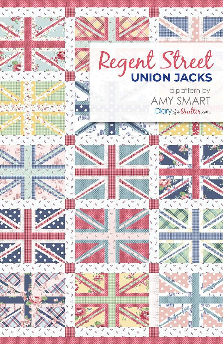 Regent Street/Union Jack from Amy Smart for Diary of a Quilter