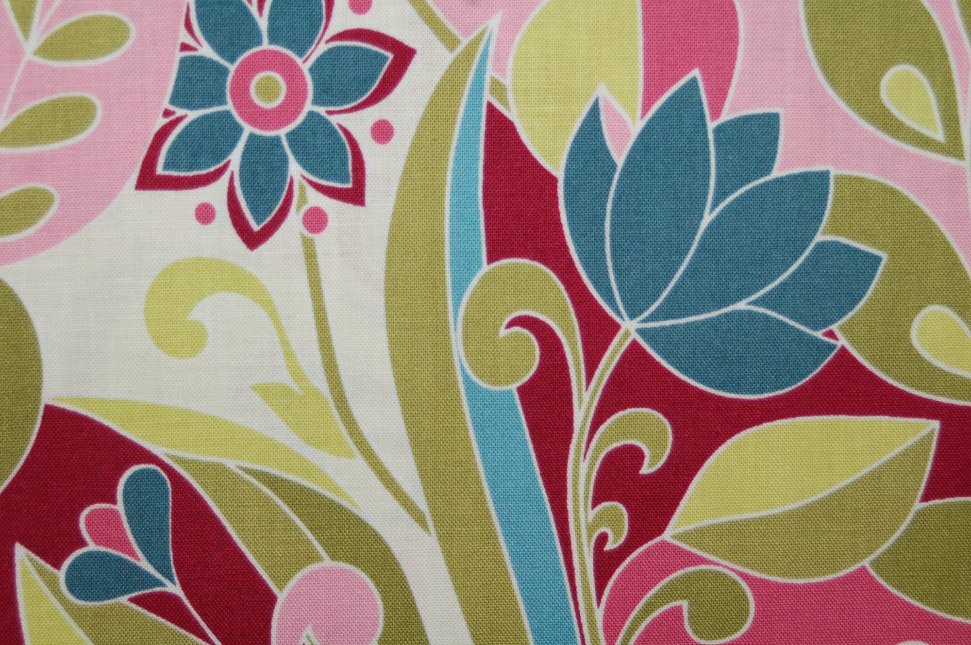 Boutanique - Large Flowers and Leaves from Lila Tueller for Riley Blake Designs