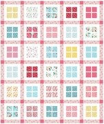 Gingham Windows by Bev McCollogh for Flamingo Toes