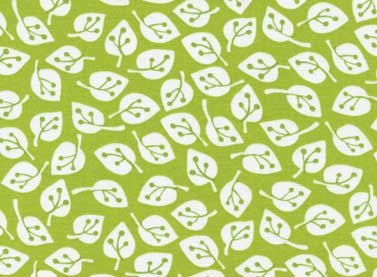 Summer Home Leaves (Green) from Red Rooster Fabric