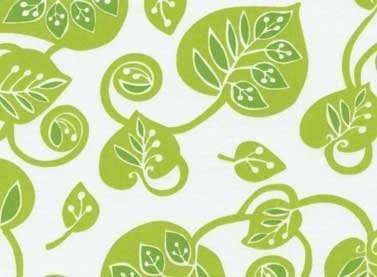 Summer Home Vines (Green) from Red Rooster Fabric