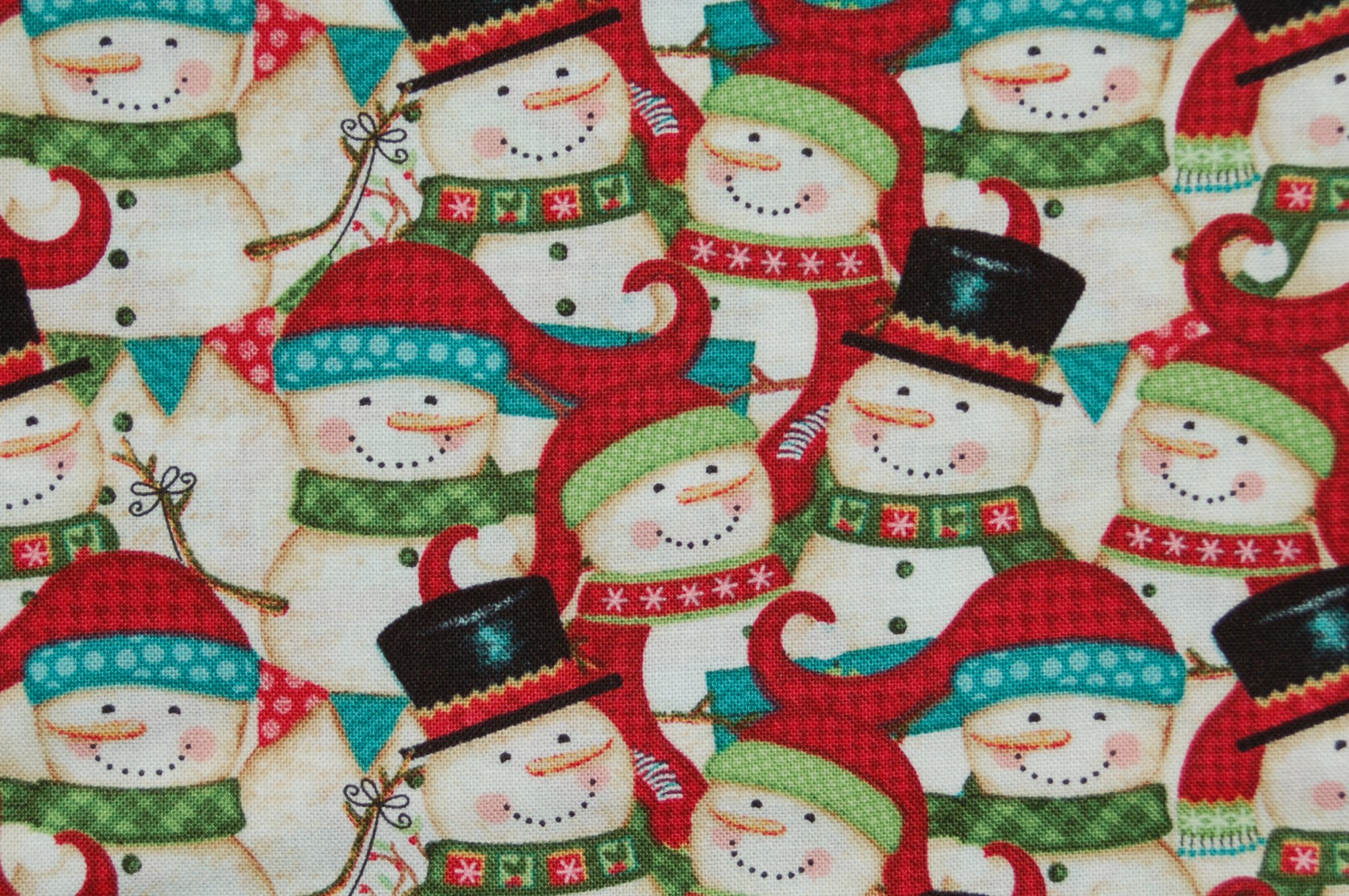 Holly Jolly Christmas Snowmen by Sharla Fults for Studio E
