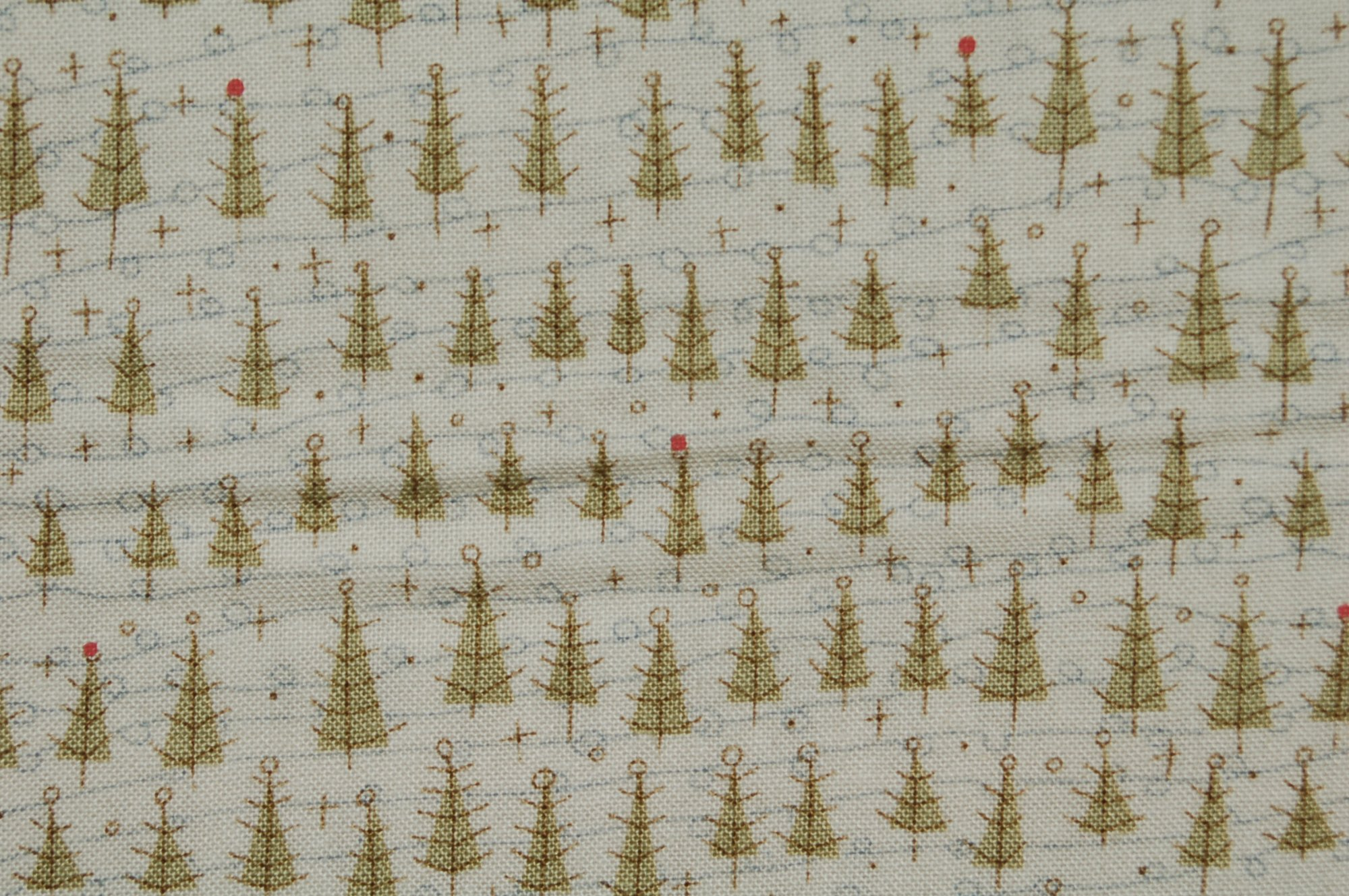 Winter Wonderland Trees by Anni Downs for Henry Glass & Co.