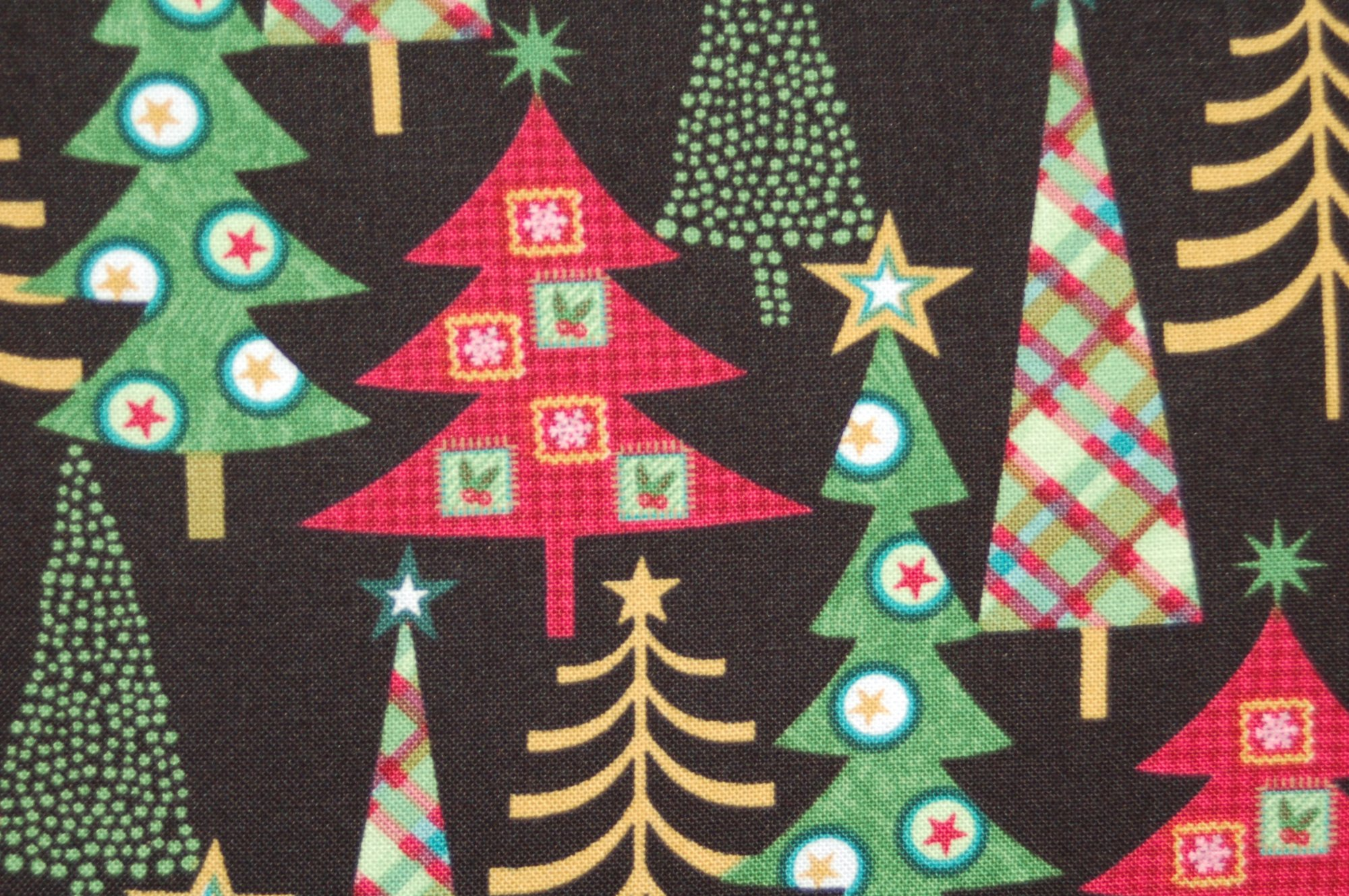 Holly Jolly Christmas Trees by Sharla Fults for Studio E
