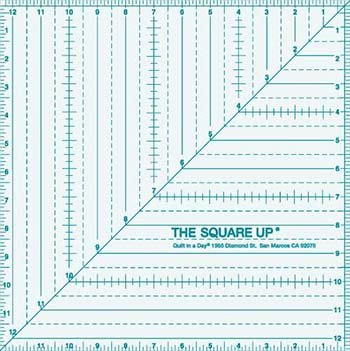 12.5  Square up Ruler