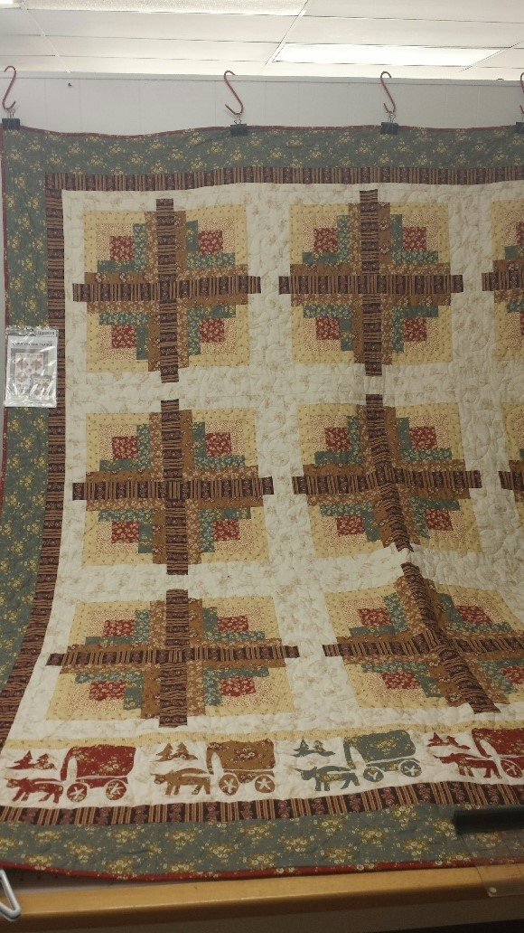 Cabin on the Praire  Quilt Kit