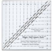 Magic Half-Square Ruler