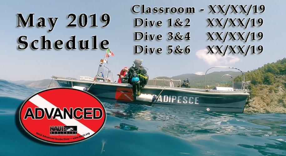 NAUI Advanced SCUBA Diver Class