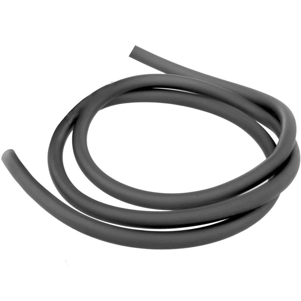 Nautical Black Latex Tubing 3/8