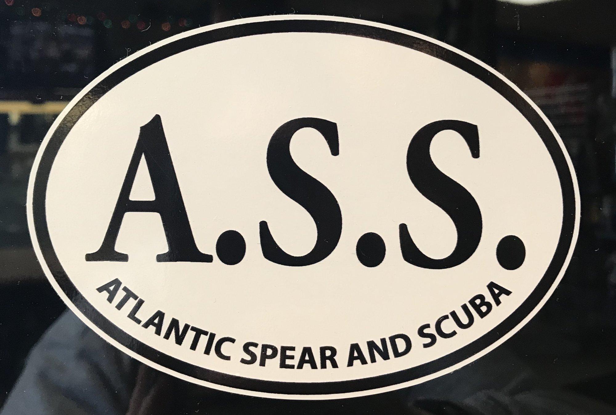 Atlantic Spear & Scuba Location Sticker