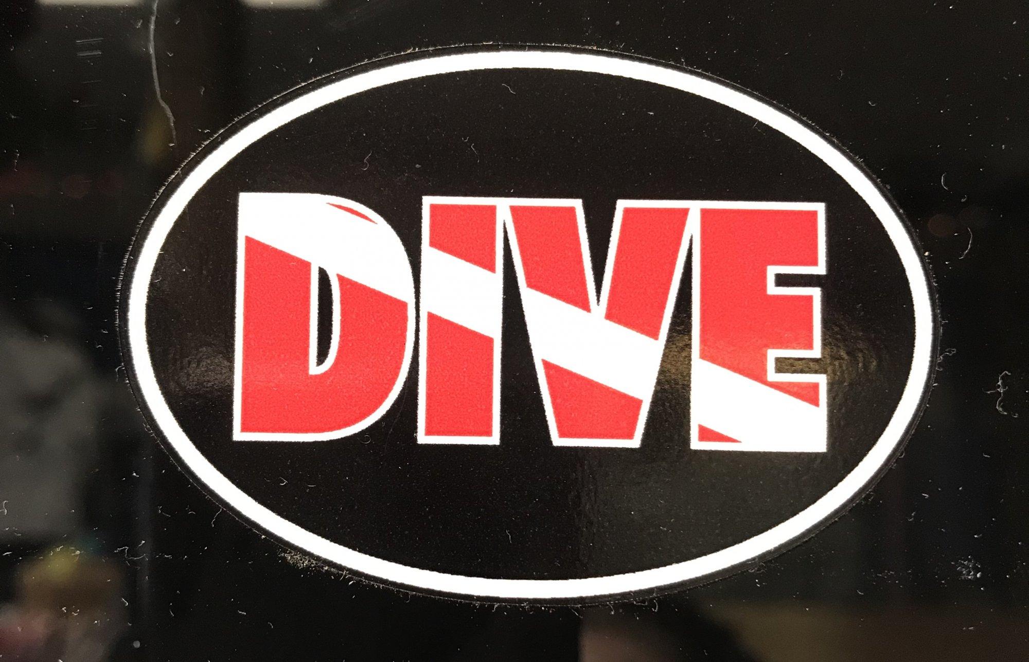 Mini Dive Sticker