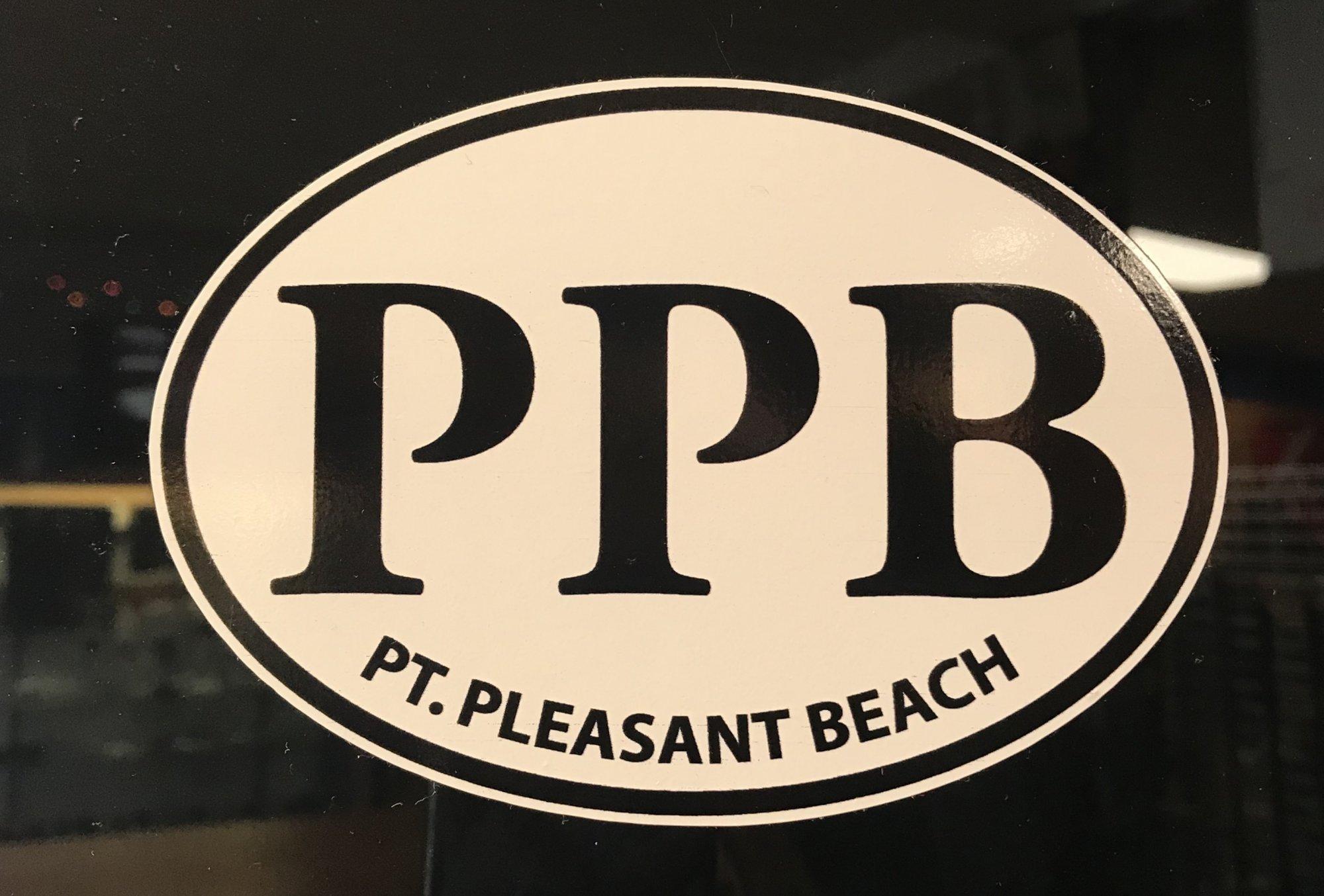 Pt. Beach Location Sticker