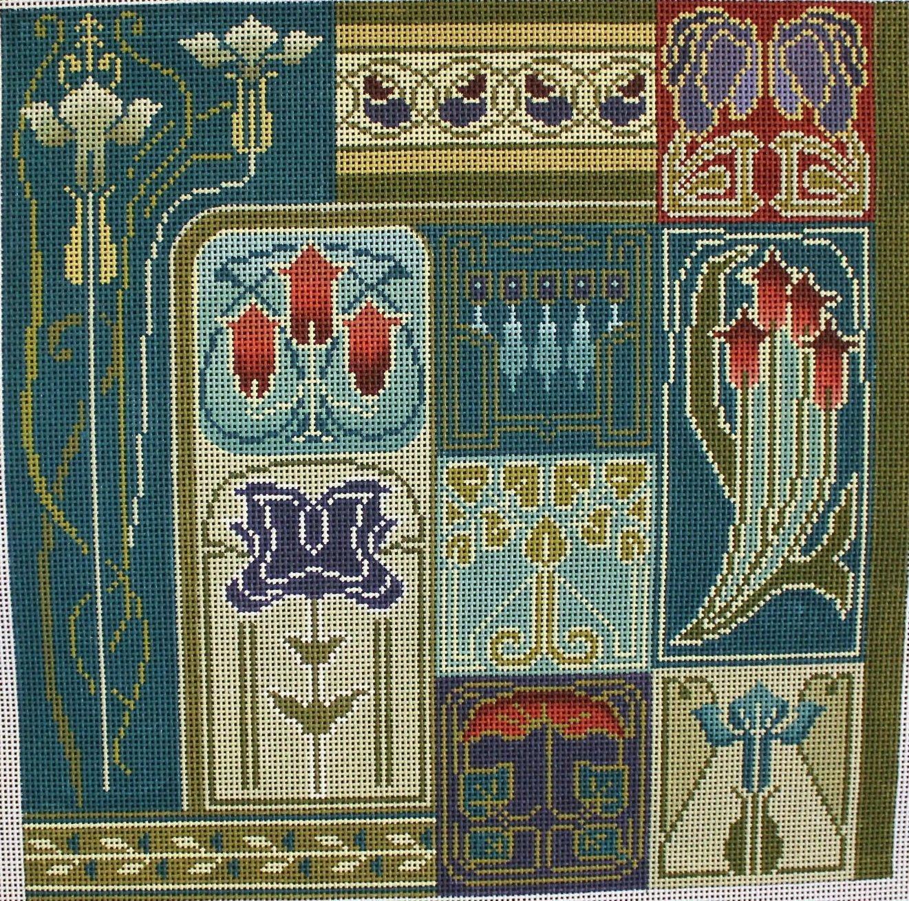 Art Nouveau Tiles #2388
