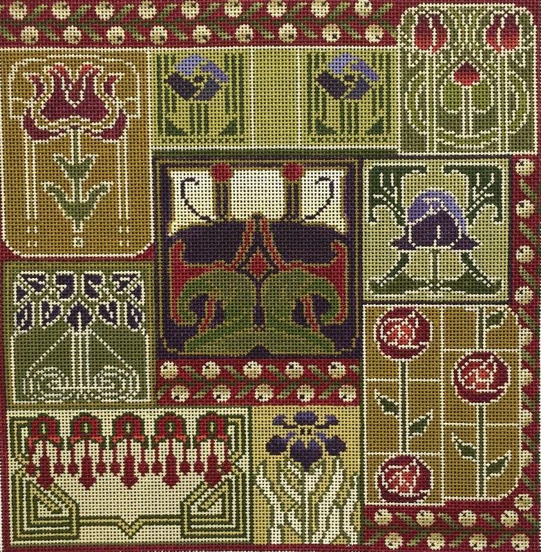 Art Nouveau Tiles #2389