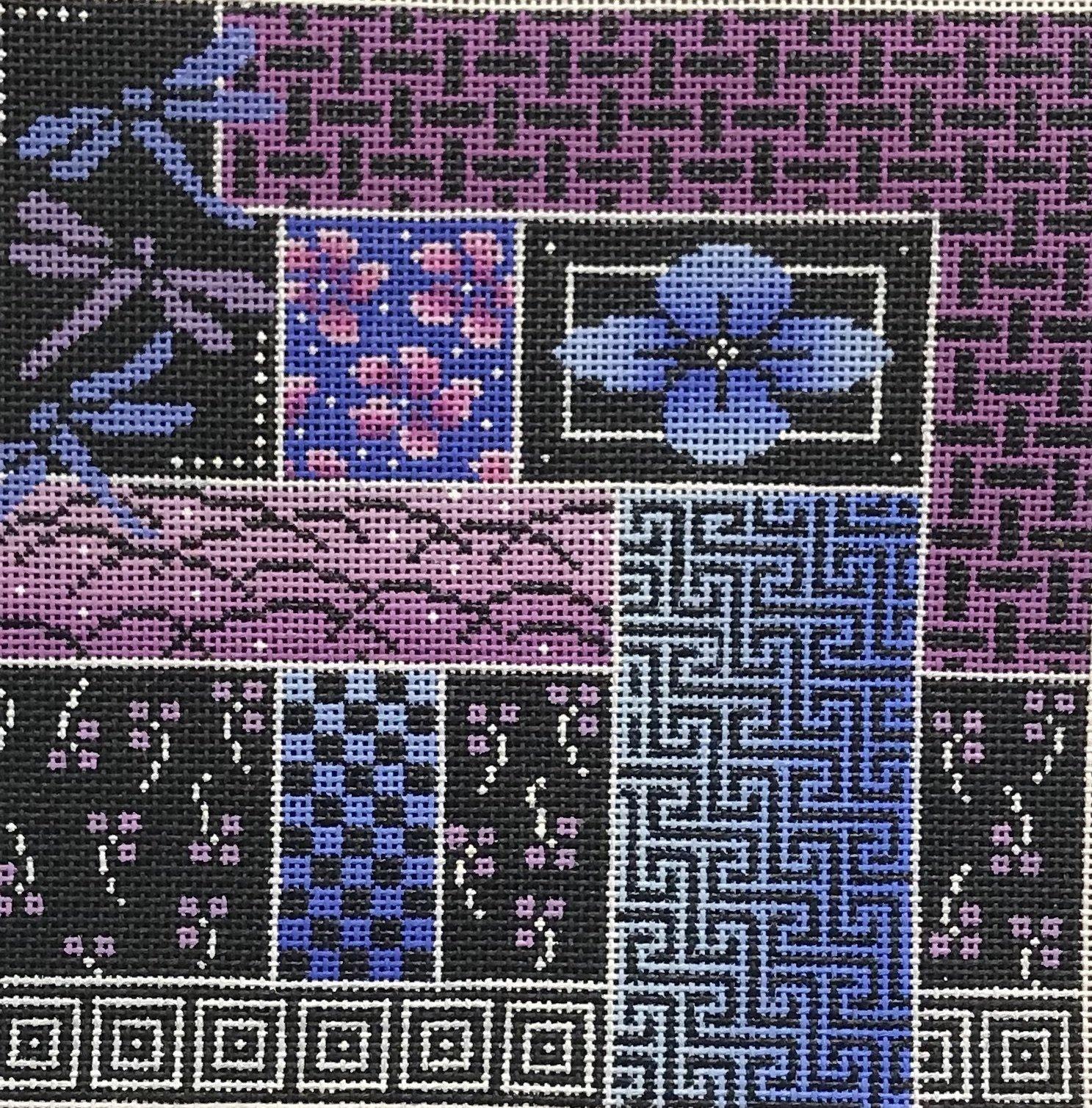 Asian in Purple  #69-B