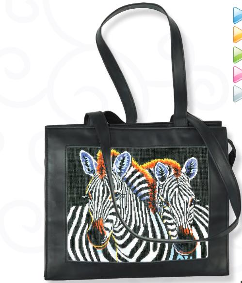 Zip-Top Tote Bag 24