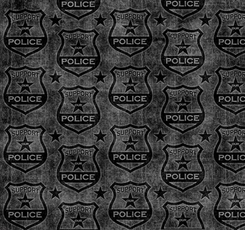 Protect and Serve - Shields (Charcoal)
