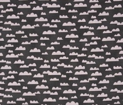 All Afloat - Clouds (Pink/Dark Gray)