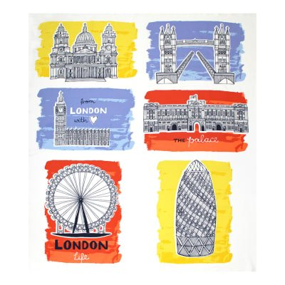 From London With Love - 36 Panel