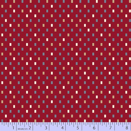 Blue Meadow - Tiny Boxes (Red)