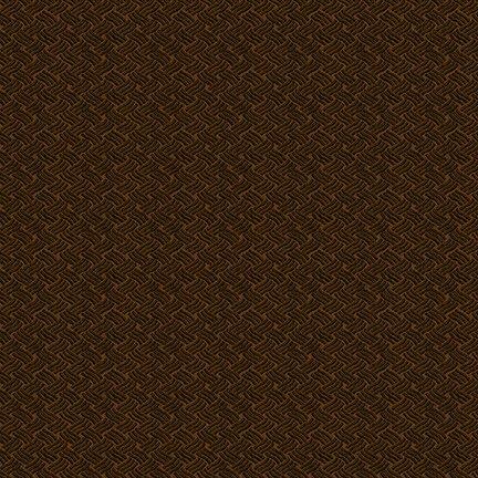 Barn Dance - Weave Texture (Brown)