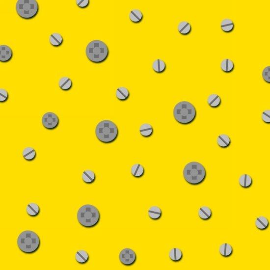 Let's Build - Construction Dots (Yellow)