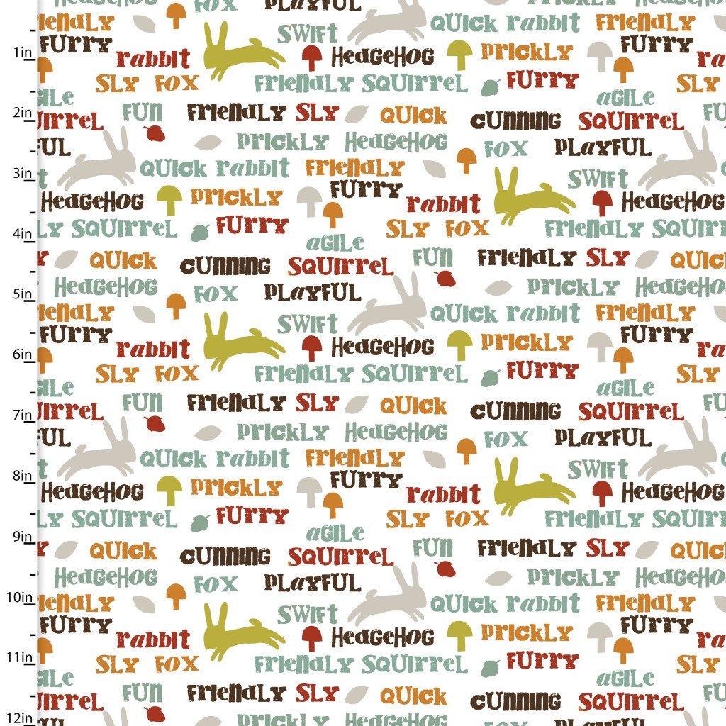 Forest Friends - Animals Words