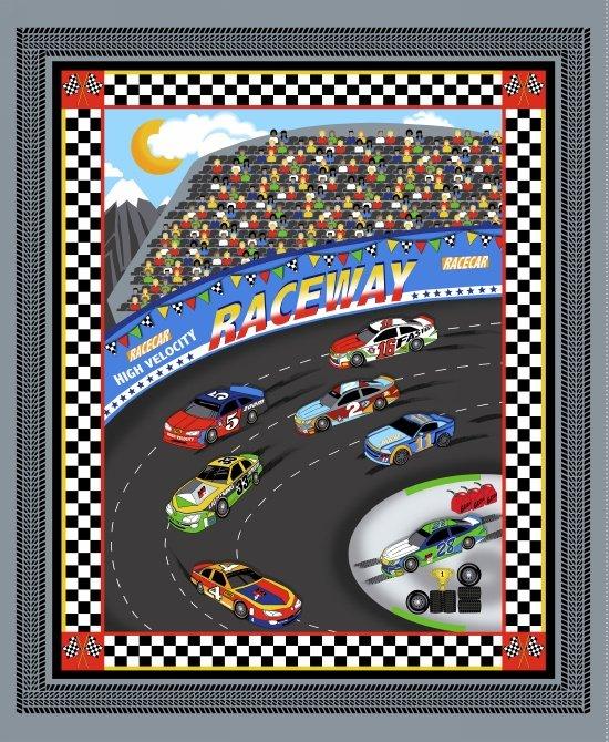 Fast Track 36 Race Car Panel