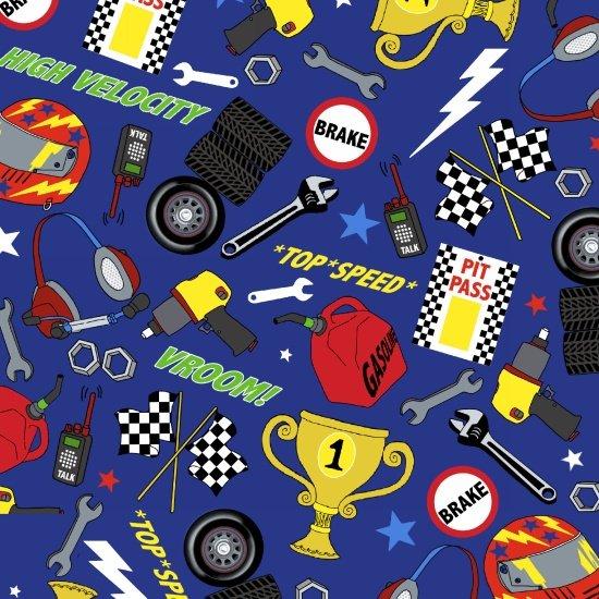 Fast Track - Racing Accessories (Dark Royal)