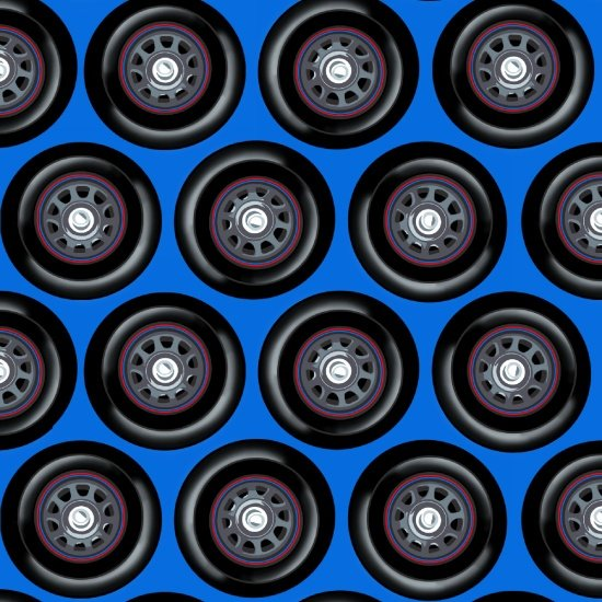 Fast Track - Wheels (Blue)