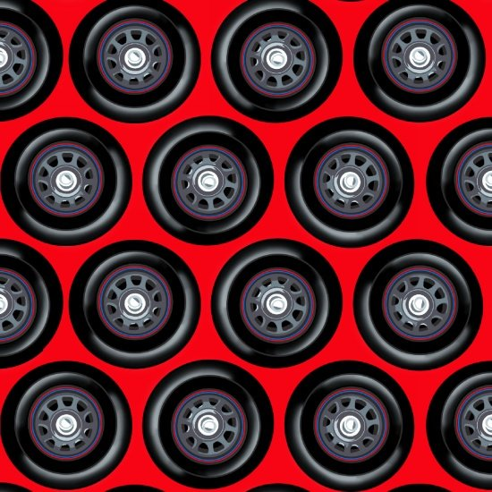 Fast Track - Wheels (Red)