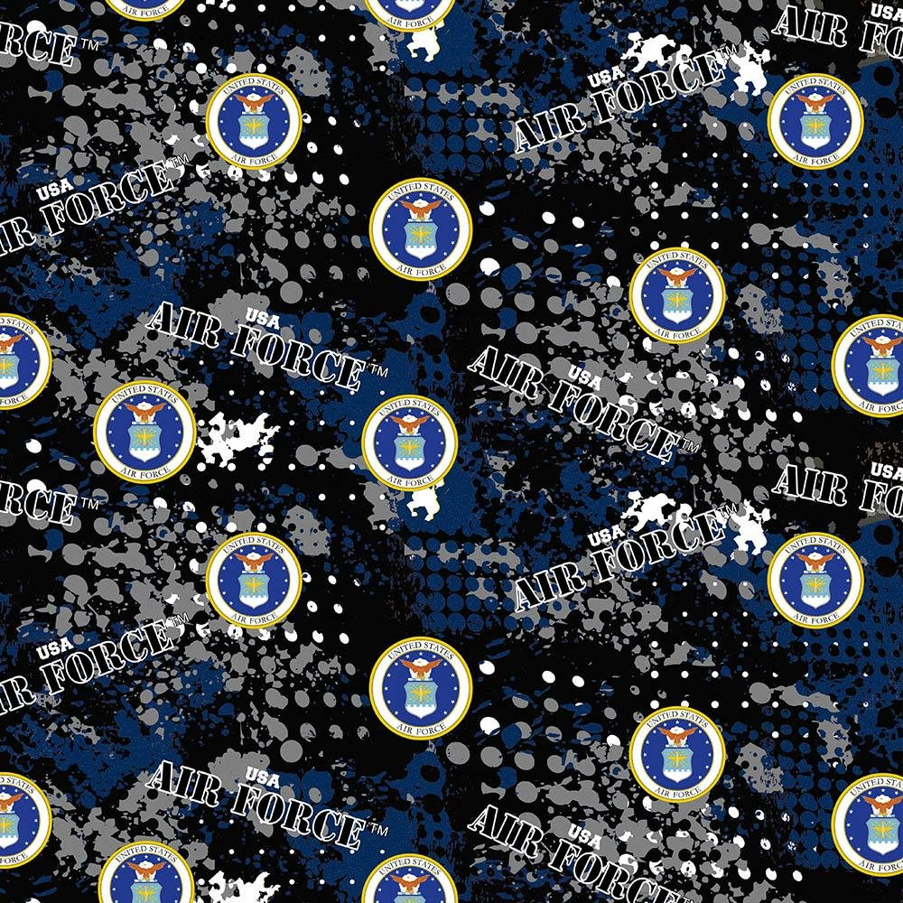 Military Prints - Air Force Abstract Geo Logo