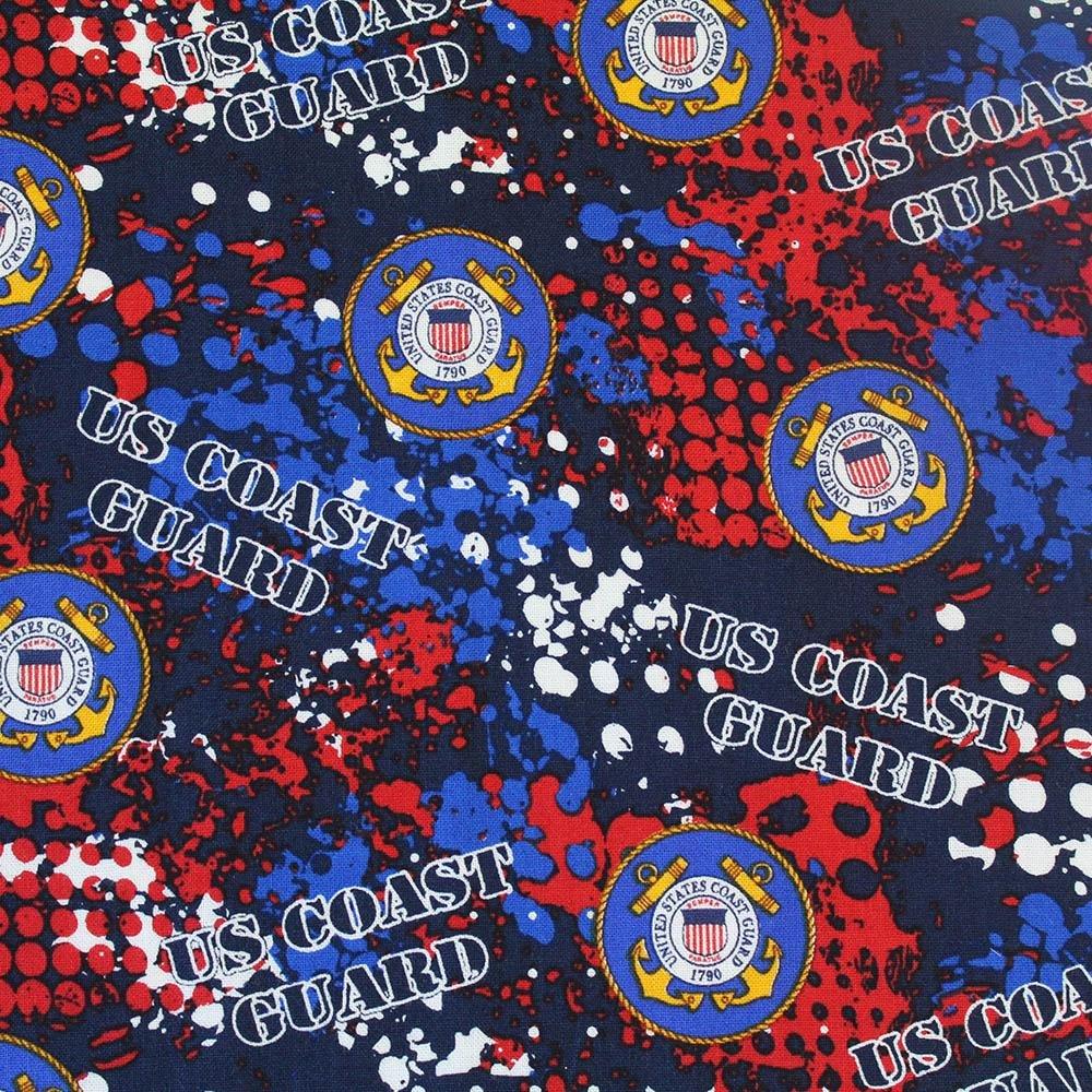 Military Prints - Coast Guard Abstract Geo Logo