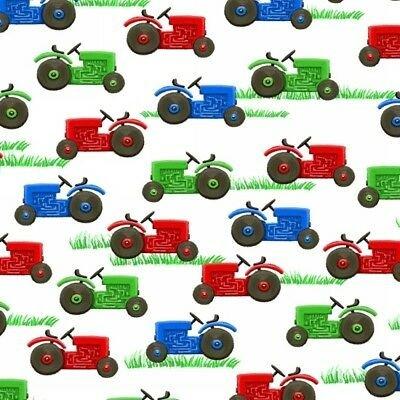 Farm Life - Tractors (White)