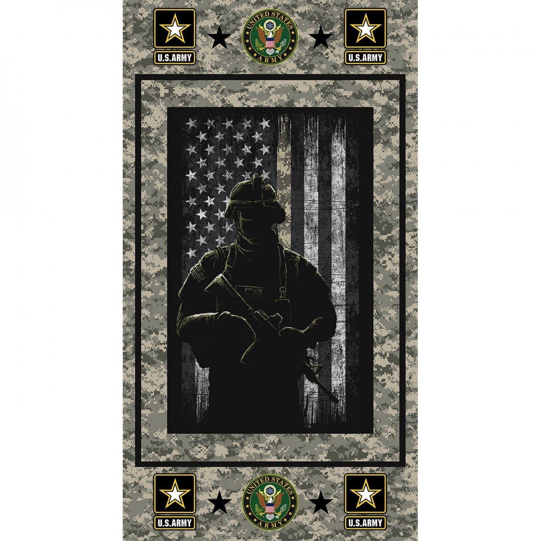 Military Prints - Army  23 Panel