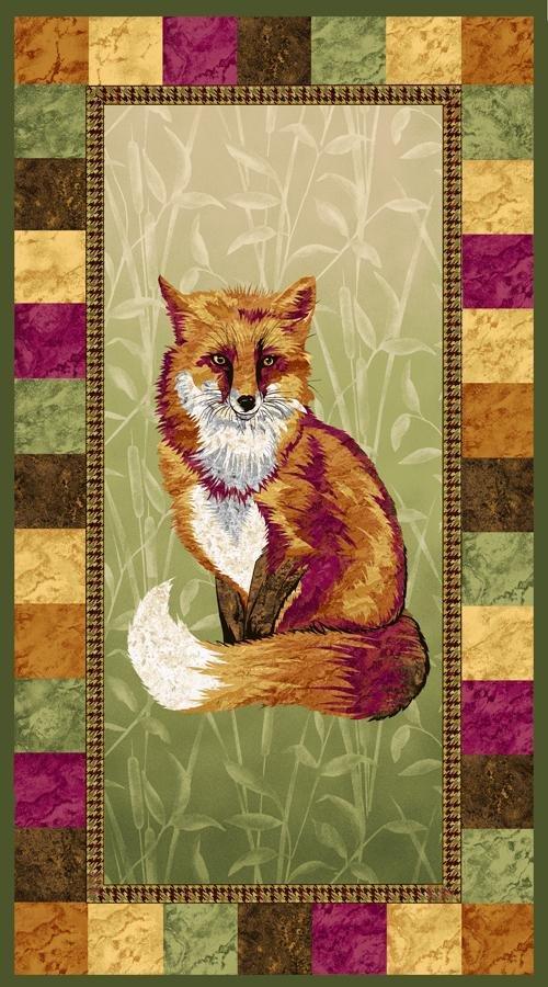 Pretty Foxy 23 Panel