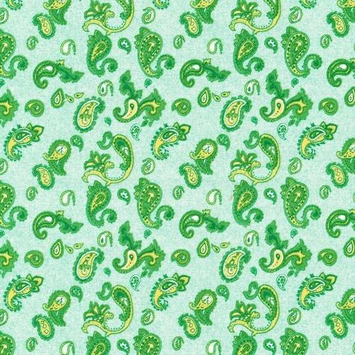 Classique - Paisley (Green)