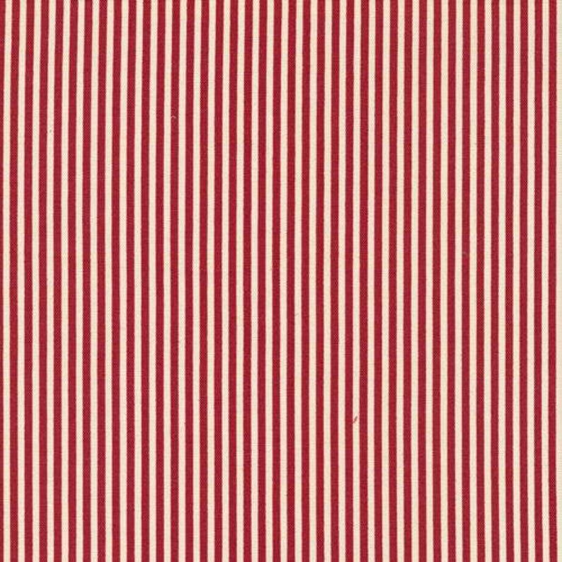 Classique - Stripe (Red/Ecru)
