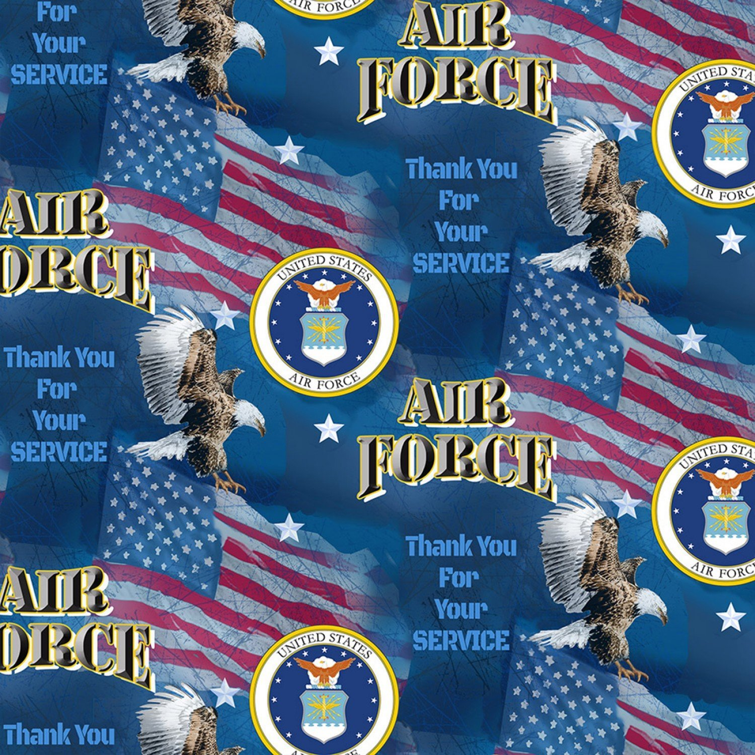 Military Prints - Air Force Flags