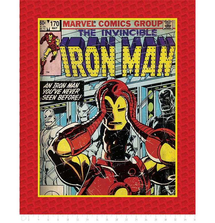 Marvel Comics III Invincible - Iron Man (Panel)