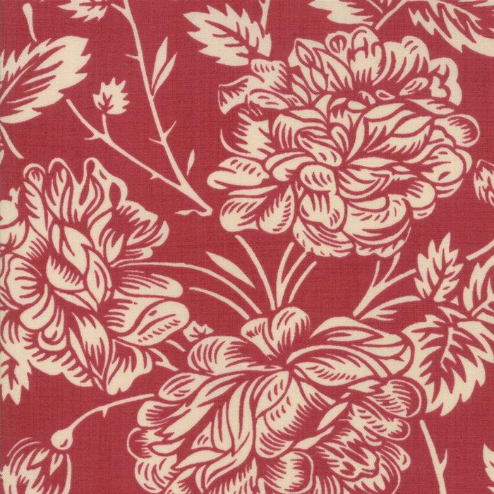 La Vie En Rouge - Large Floral (Garance)