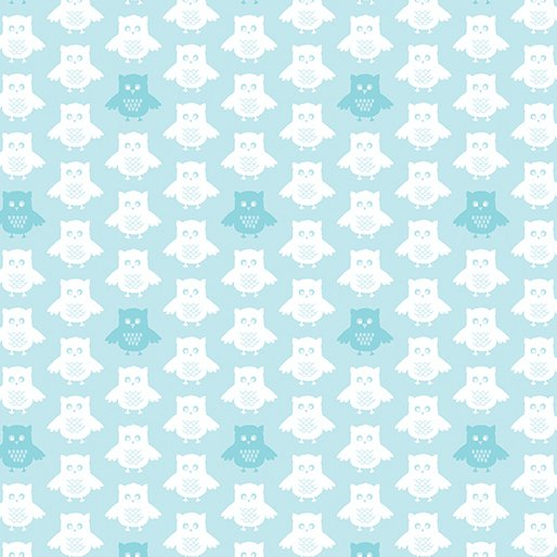 Owls and Pals - Owls (Turquoise)