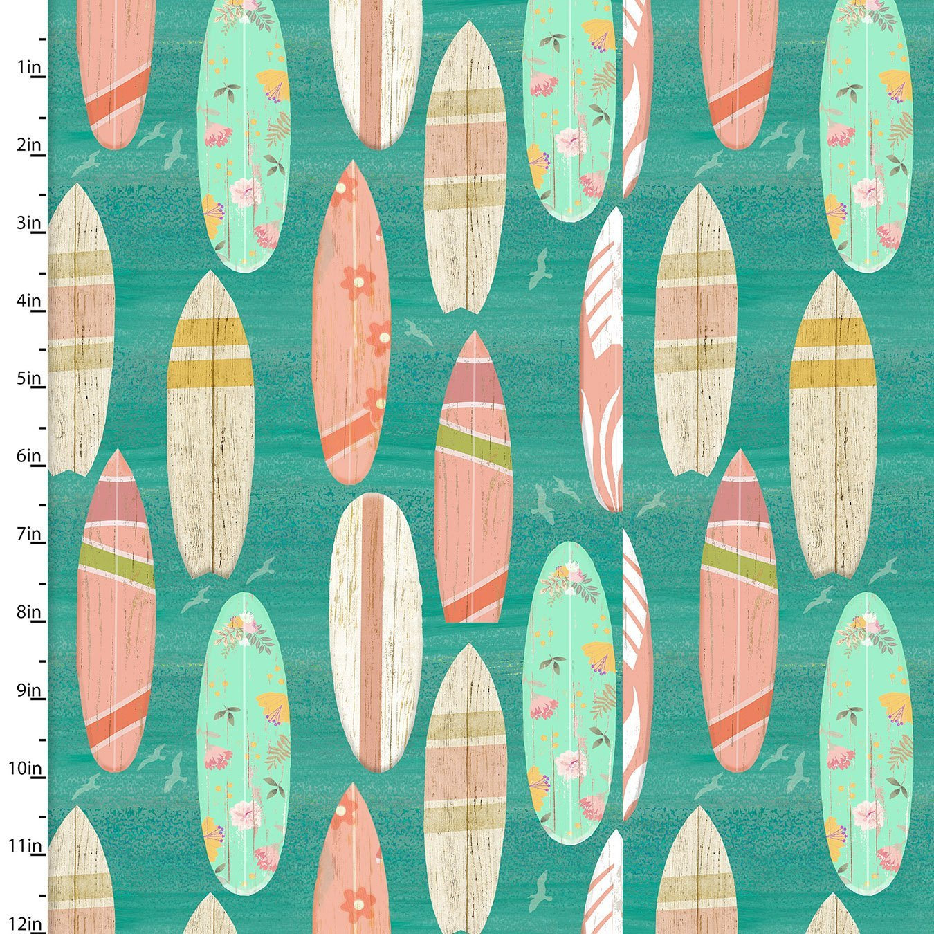 Beach Travel - Surf Boards (Turquoise)