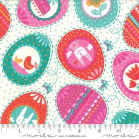 Spring Bunny Fun - Cream
