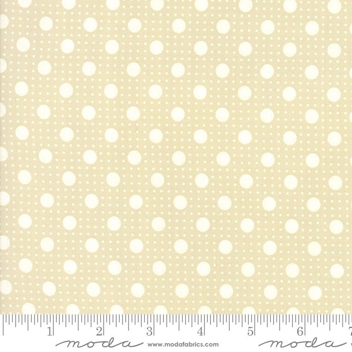 Muslin Mates - Moda Basic Spotty (Natural)