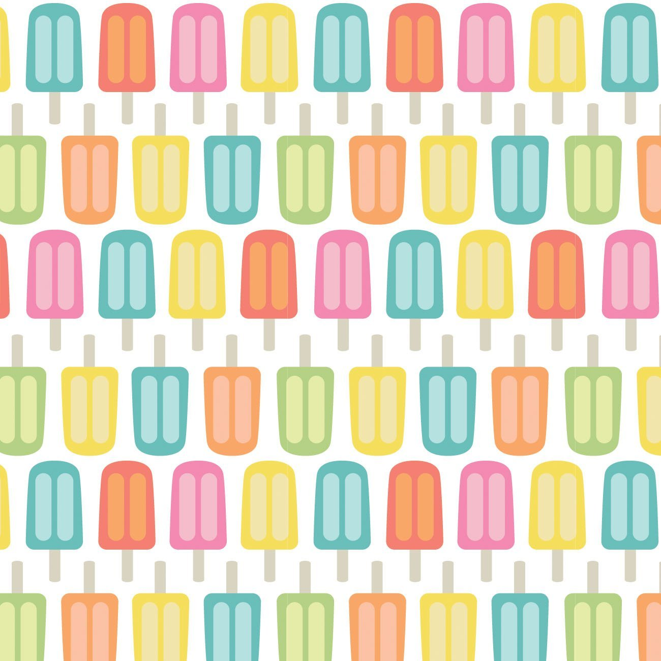 Be The Rainbow - Bright Popsicles (White)